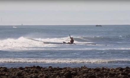 JASPER MOCKE CATCHES THE LONGEST WAVE OF HIS LIFE