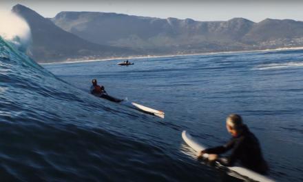 SURFSKI CHARGING HUGE WAVES IN SOUTH AFRICA