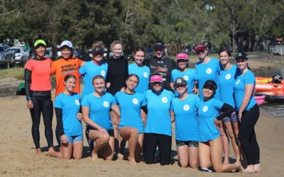 NEW INITIATIVE 'PUSHING THE LIMITS' FOR FEMALE PADDLING