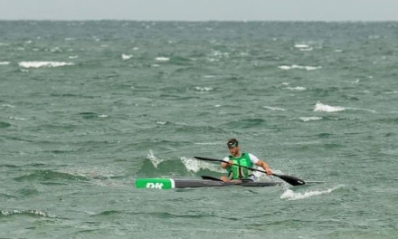 GORDAN HARBRECHT BREAKS FAMED THREE-MINUTE BARRIER FIVE TIMES IN DOWNWIND FOR THE AGES
