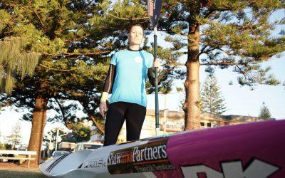BONNIE HANCOCK TO PADDLE AROUND AUSTRALIA IN SURFSKI