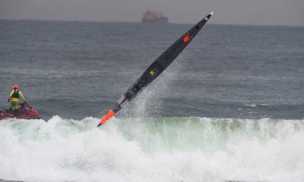 HUGE SURF WREAKS HAVOC AT THE DOLPHIN COAST CHALLENGE