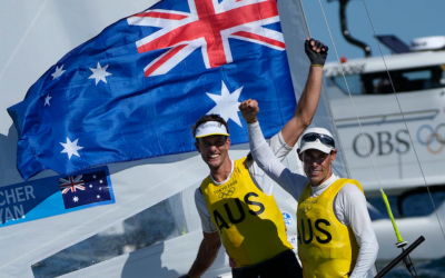 THE SURFSKI SECRET BEHIND AUSSIE SAILOR'S OLYMPIC WIN