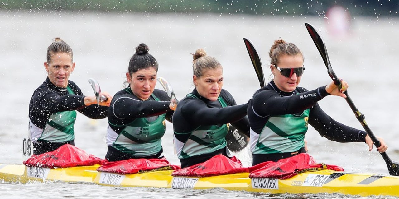 HOW MICHELLE BURN FOUND HERSELF COMPETING AT THE CANOE SPRINT WORLD CHAMPIONSHIPS