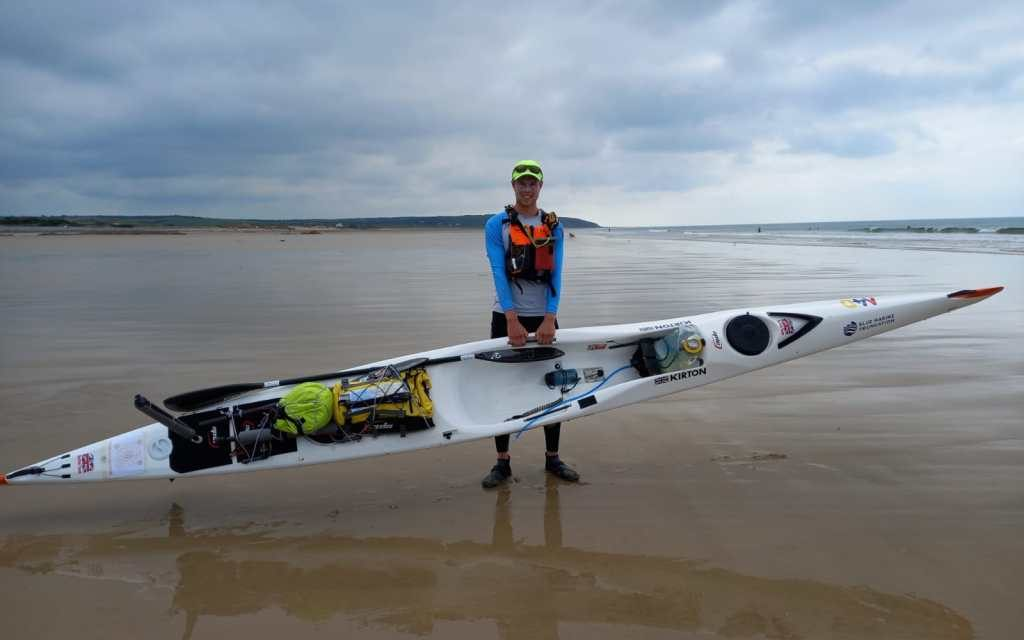DOUGAL'S EPIC ADVENTURE SEEING THE WORLD FROM A SURFSKI